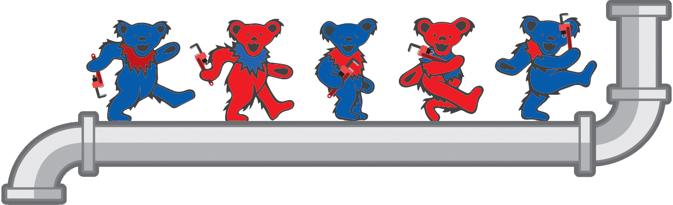 Grateful Plumber Dancing Bears